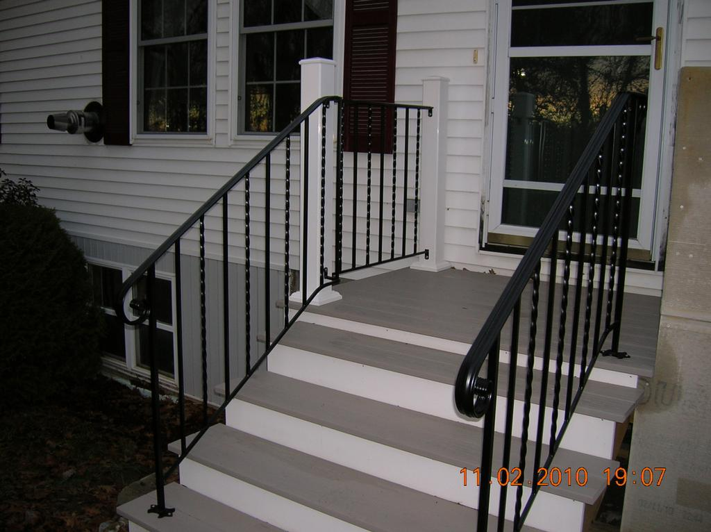 Wrought Iron Railings From Mainely Handrails In Waterville