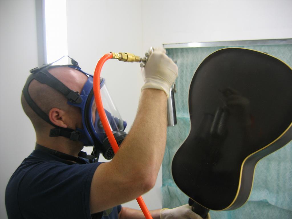 Bass Guitar Crack Repair