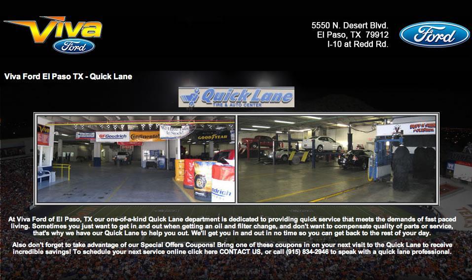 Viva Ford El Paso Tx 79912 915 834 2850 Ford Dealers