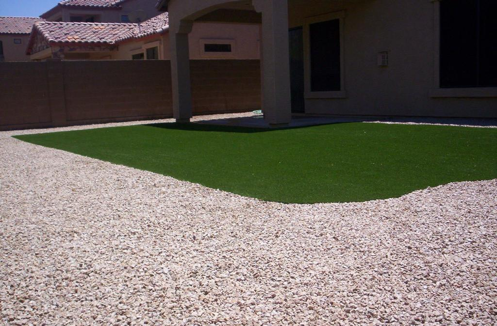 Fake Grass For My Backyard : Artificial Grass backyard in Las Sendas by East Valley Turf Design