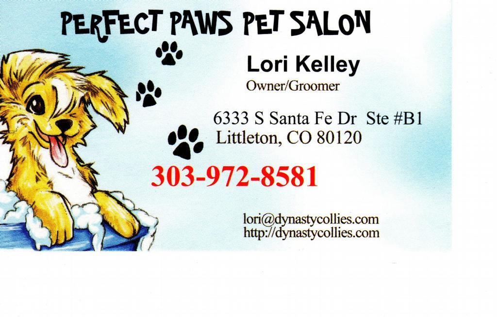 Perfect paws pet salon littleton co 80120 303 972 8581 for A perfect pet salon