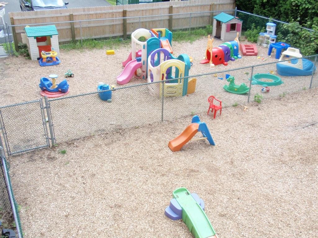Playground Infant Toddler From Rainbowland Child Care