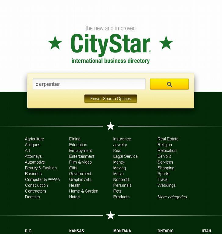 citystar_home_page_more_options by CityStar.com International Business Directory - CityStar Group, Inc.