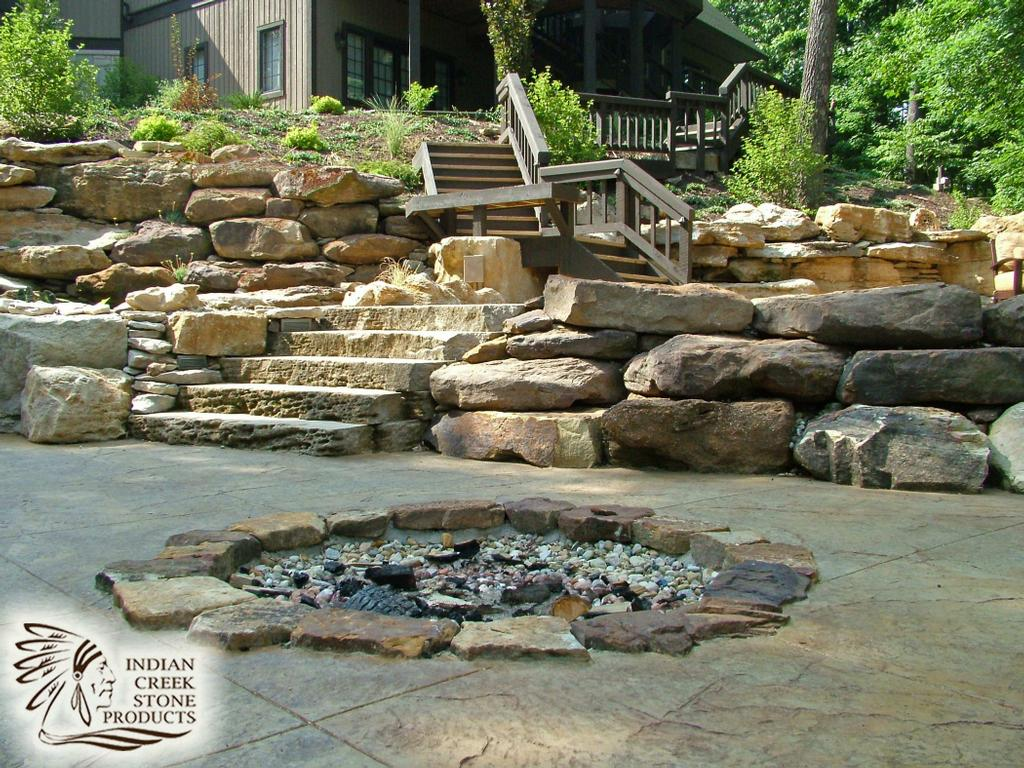 Indian creek stone products huron in 47437 812 247 3342 for Stone creek cabins