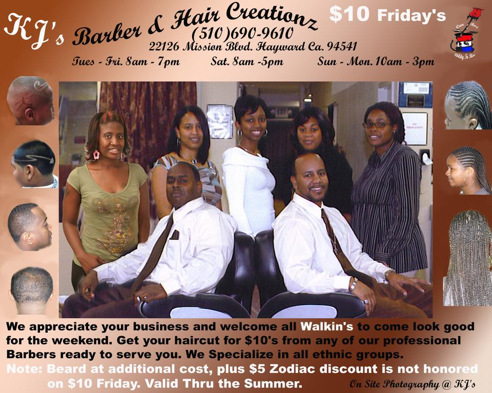 Pictures for KJs Barber and Hair Creationz in Hayward, CA 94541