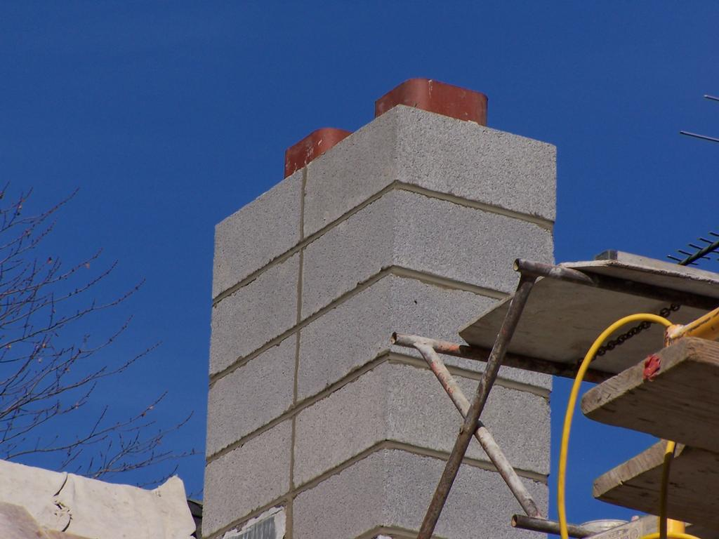 Concrete Chimney Blocks : Chimney block g from check masonry