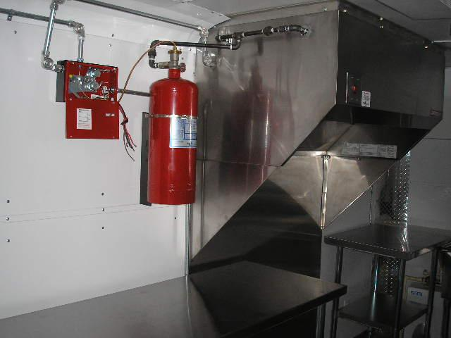 Concession Trailer Hood And Fire Suppression System From M