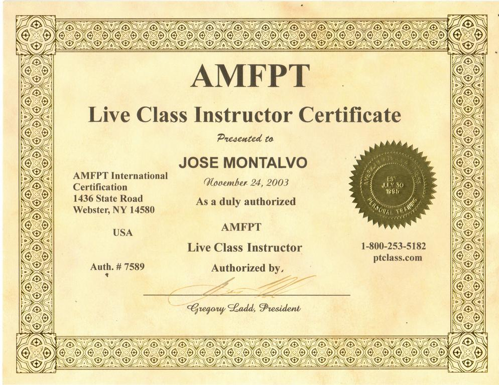 Pictures For Amfpt Personal Trainer Certification Florida