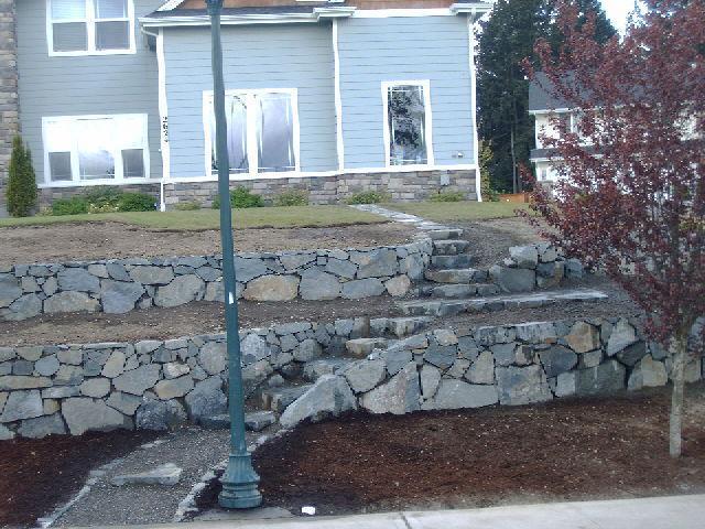 Landscaping Rocks Tacoma : Ramos rockwall landscaping tacoma wa