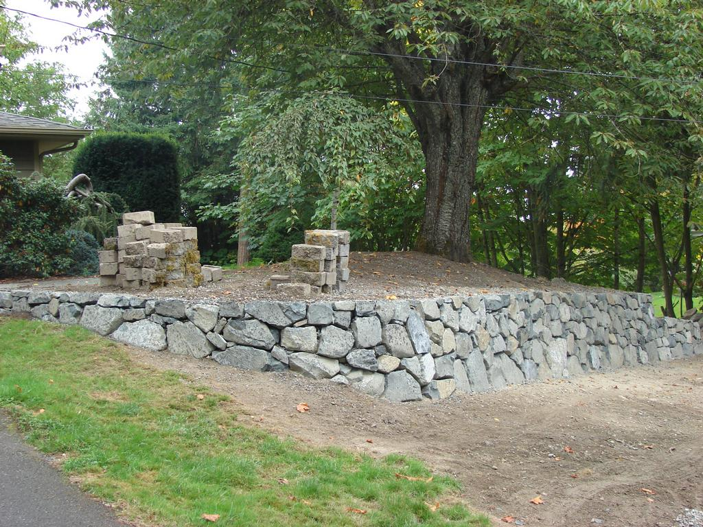 Landscaping Rocks Tacoma : Pictures for ramos rockwall landscaping in tacoma wa