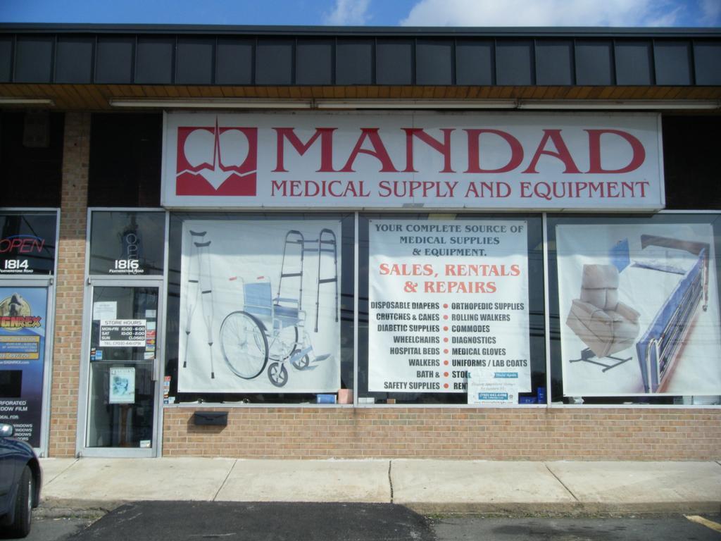 Mandad medical supply equipment rentals woodbridge va for Decor rent event woodbridge va
