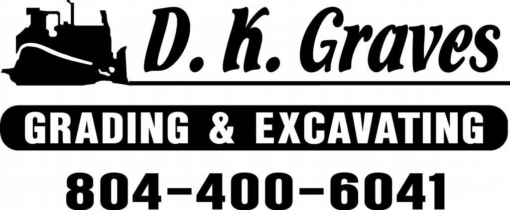 company logo from d k graves grading  u0026 excavating in richmond  va 23218