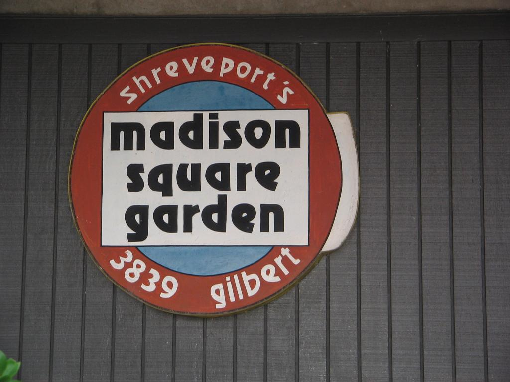 Madison Square Garden Restaurant Shreveport La 71104 318 861 5918