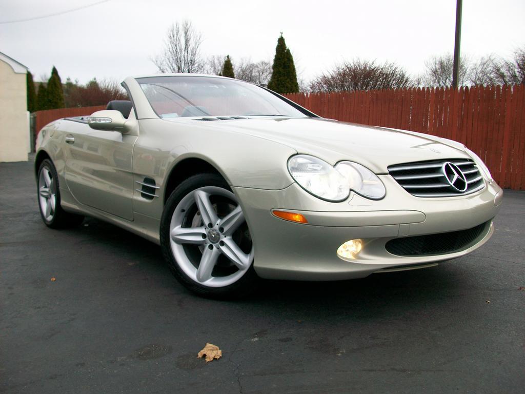 2003 Mercedes Benz Sl500 Designo From Mini Me Motors In