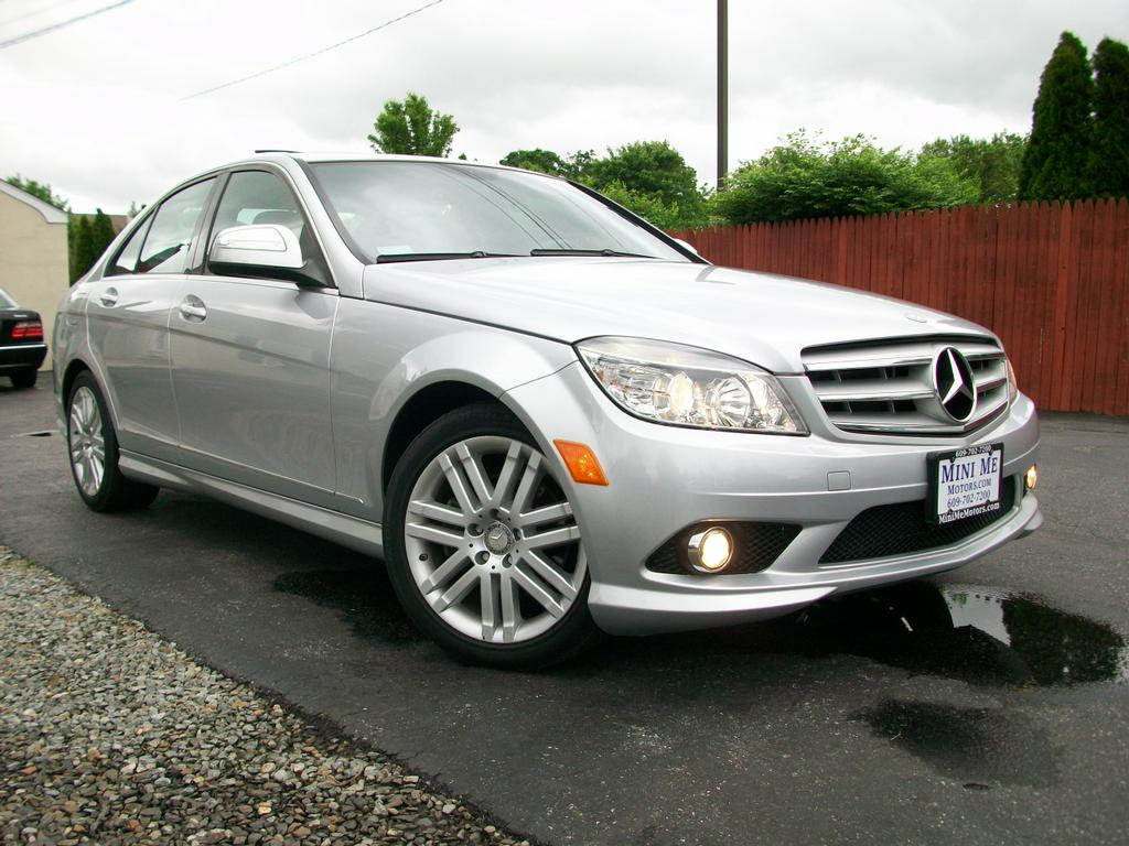 2008 mercedes benz c300 4matic sport from mini me motors for Motor vehicle in mt holly nj