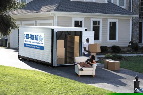 1 800 Pack Rat Portable Storage And Moving Raleigh Nc