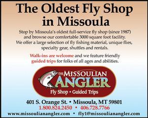 Missoulian Angler Fly Shop; Missoula Montana Fly Fishing Guides - Missoula, MT