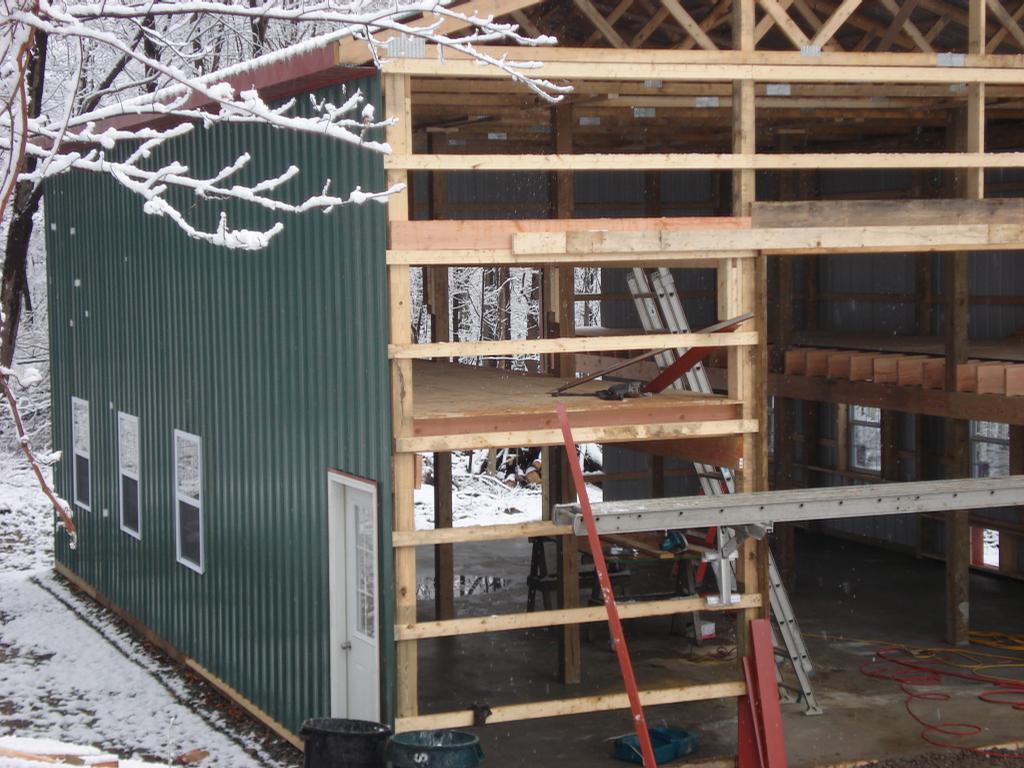 Pictures for oak ridge carpentry in oak ridge nj 07438 for Pole barn loft