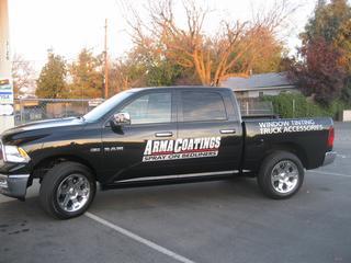 Arma Coatings Spray-On Bedliners - Chico, CA