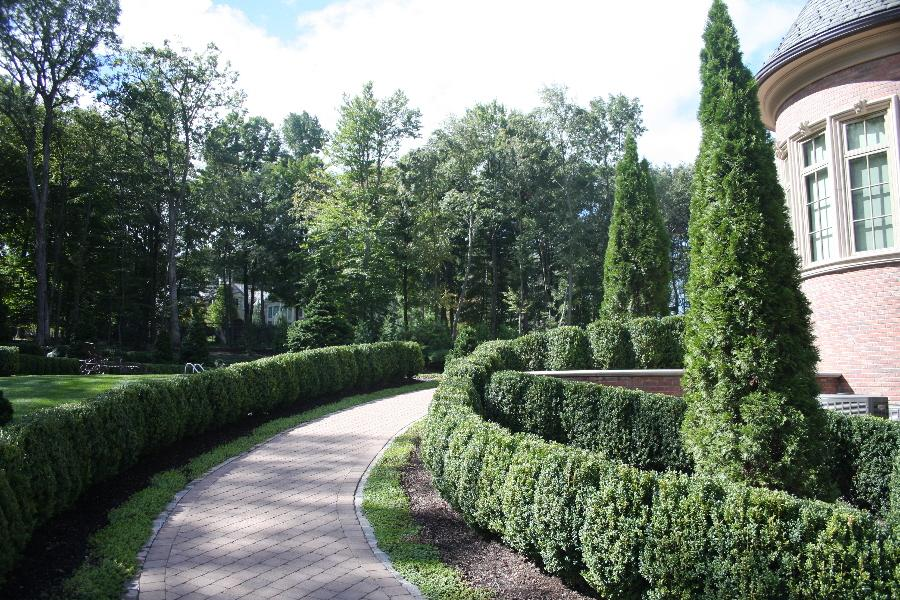 Formal Landscaping And Garden Design 9 From Hickory Hollow