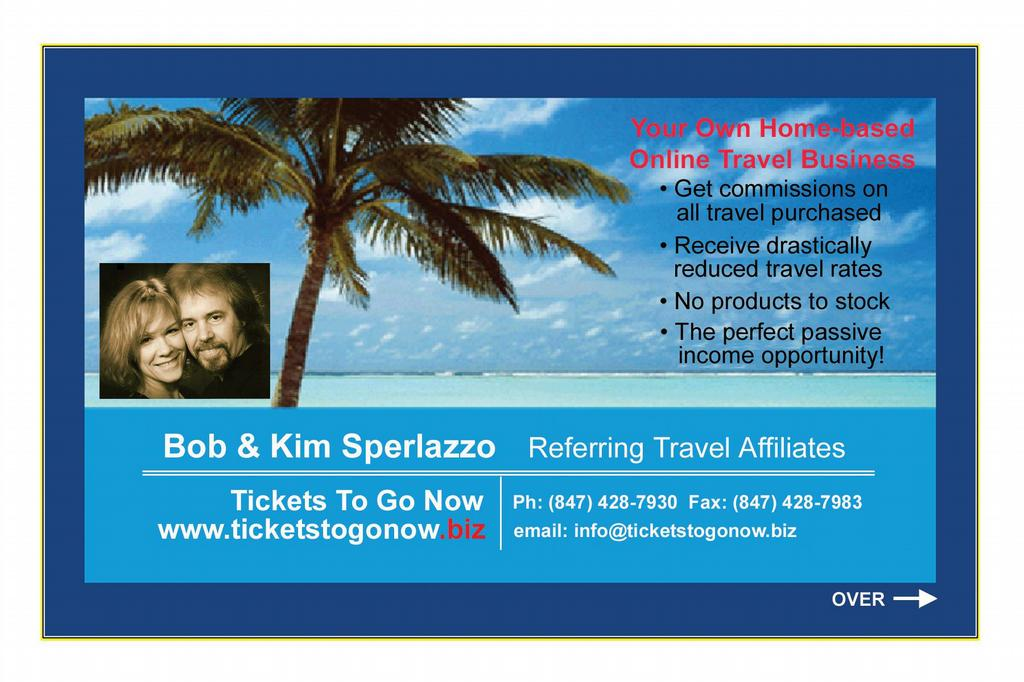 Business card back final from ticketstogonow travel for Travel agent business card