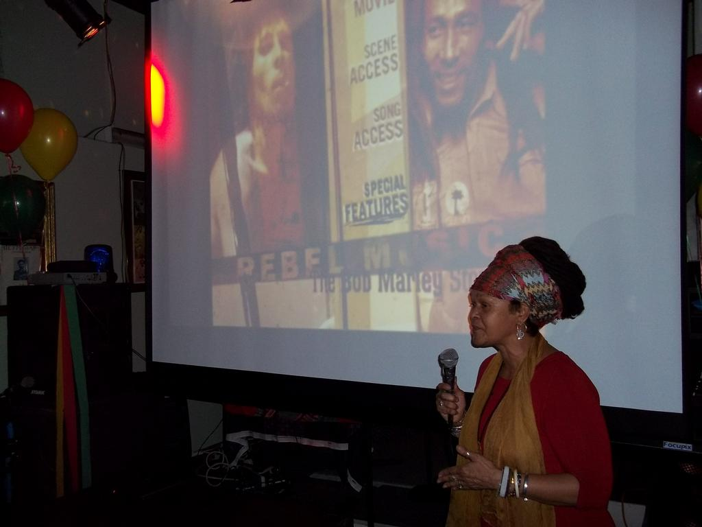 Dera Tompkins Bob Marley Birthday Celebration 2011 From Dj