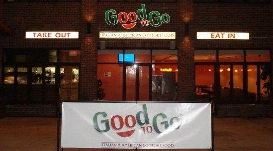Good to go storefront by good to go italian amp american comfort food