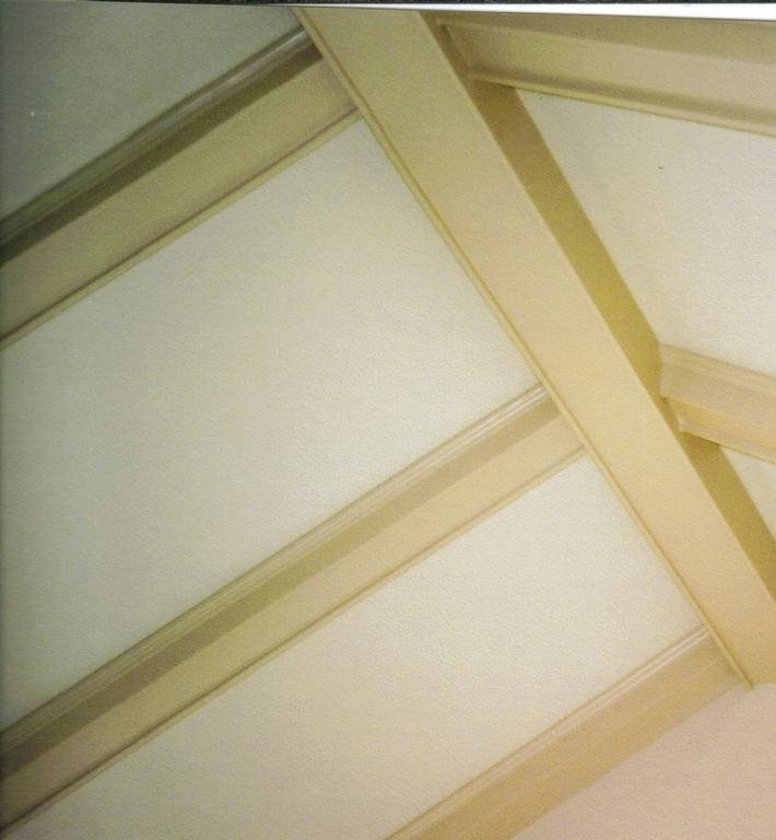 Ceiling beams before from fe fi faux fum painting faux - Painting wood beams on ceiling ...