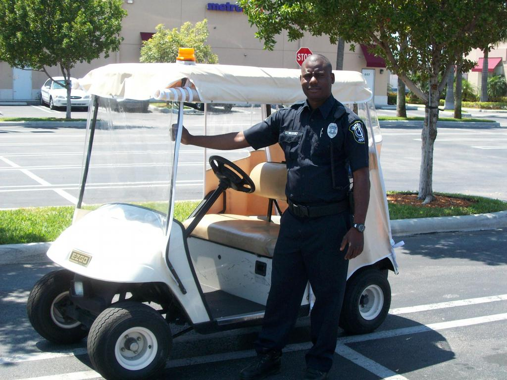 Golf Cart Patrol from Imperial Security in Miami, FL 33179 Security On A Golf Cart on old yamaha atvs security carts, security security guards for carts, campus security carts, wired security carts, bad boy carts, motorized security carts, used ez go carts, security wire shelving carts, security carts gas, sand wheels for carts, 4x4 electric hunting carts, security laundry carts,