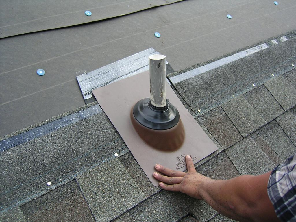 Roof Pipe Boot Replacement Jpg From Superior Roofing Of