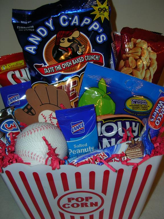 Baseball Themed Gift Basket.JPG from Baskets by Consuela in ...