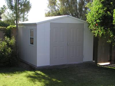 Royal Vinyl 8 X 10 Shed From Atlanta Metro Fence In