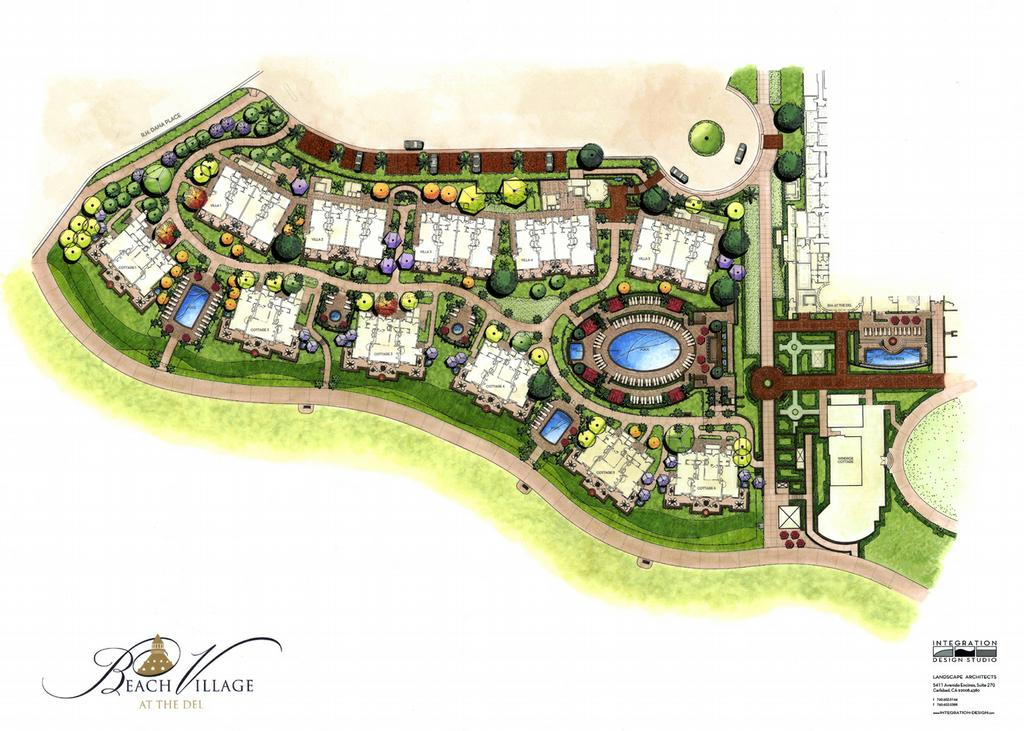Site plan layout quotes for Landscape design site