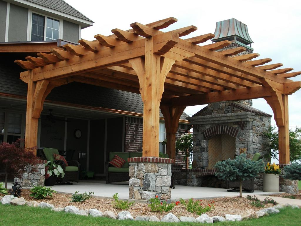 Pictures for rock solid materials llc in bixby ok 74008 for Photos pergolas