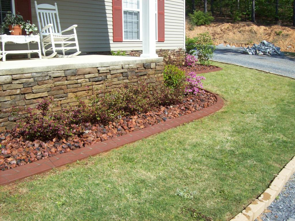 Landscaping Curbing Pictures : Decorative landscape curbing deatsville al