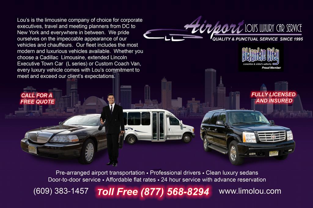 Car Service From Philadelphia Airport To Avalon Nj