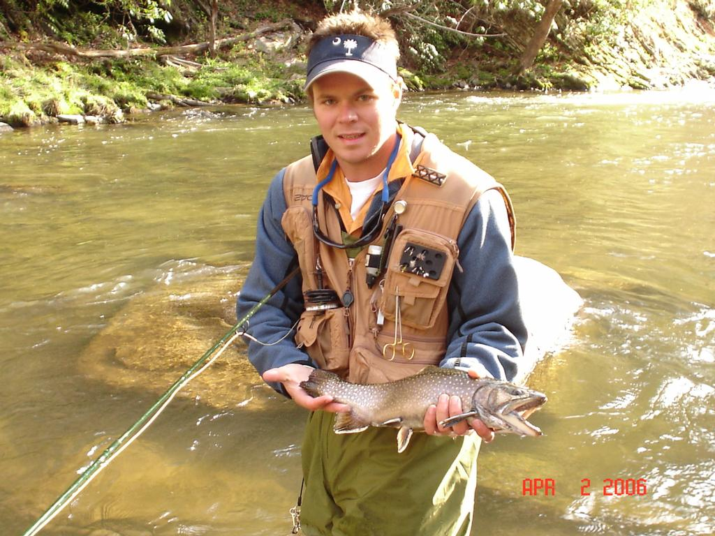 Trophy trout waters cherokee north carolina smoky for Fly fishing cherokee nc