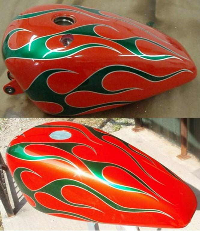 Custom Motorcycle Paint 666 x 768 · 73 kB · jpeg