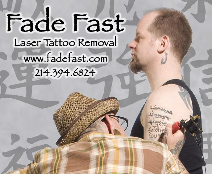 fade fast laser tattoo removal dallas tx 75226 214 394