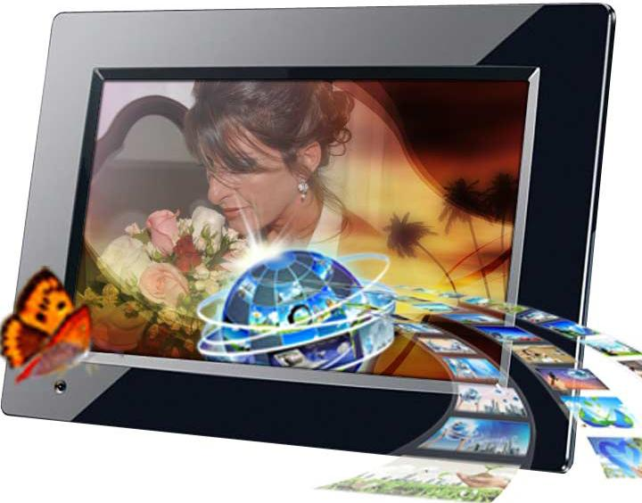 Digital Photo Frame for 3D Photo Montage Video by Memory Imprint Studio Inc