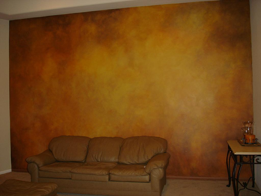 Faux finishing living wall from skywoods decorative Faux finishes for kitchen walls