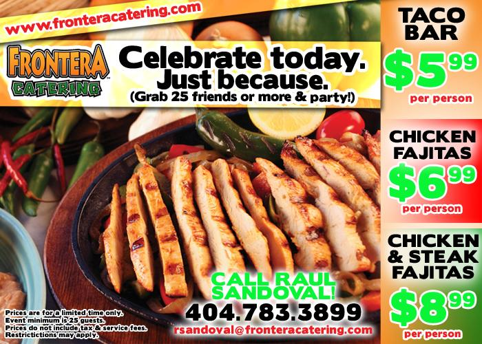 Frontera Mexican Restaurant Coupons