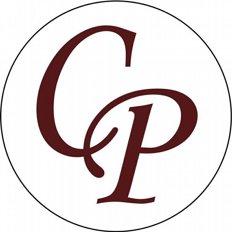 CP Circle Logo From Casey Pope Properties In Fulshear TX