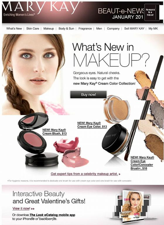 whats new in makeup jan2011 by Independent Beauty Consultant - Mary ...