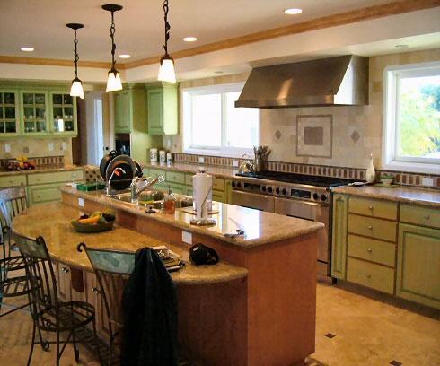 Mahogony Kitchen Cabinet Instalationcaliforniapuerto Rico Hickory Kitchen Cabinets
