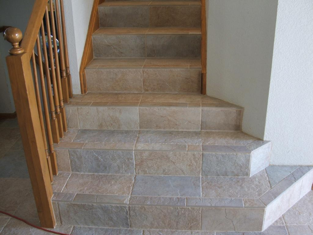 Tiled Stairs From Tiles Incorporated In Parker Co 80134