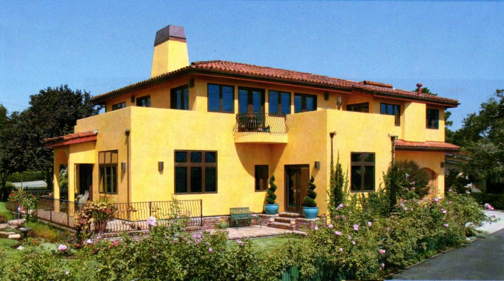 Exterior Stucco Painting colorwash From T Paul Sek
