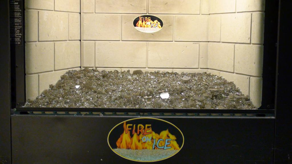 Broken Glass Fire Pit : Pictures for outdoor fire designs in spokane wa