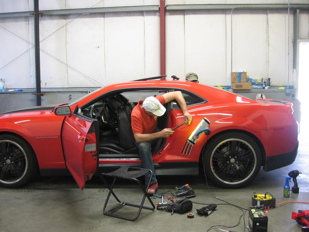 Auto detailing near media paint 18