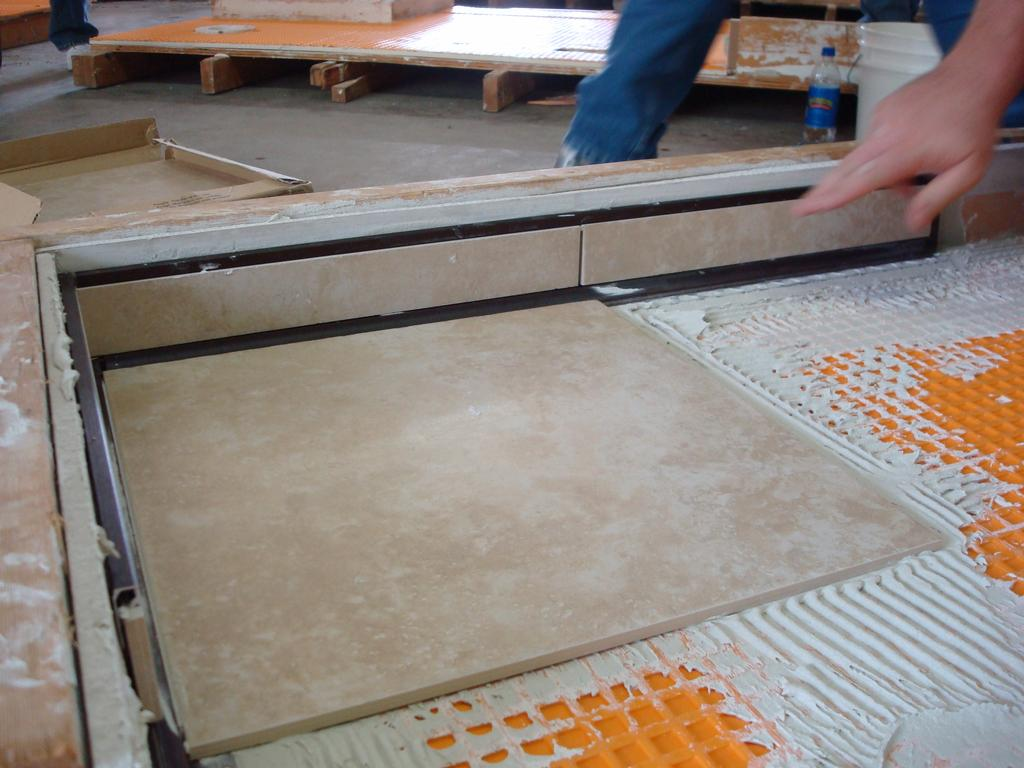 Schluter Systems Edge Profiles Installation from Modern